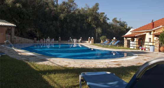 Michalis complex swimming pool